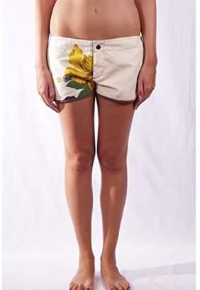 L.Bolt Herbal Surf Shorts, Women,S