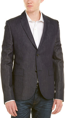 Gucci Linen-Blend Suit Jacket