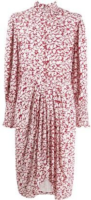 Etoile Isabel Marant Siloe printed midi dress