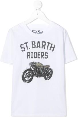 MC2 Saint Barth St. Barth Riders print T-shirt