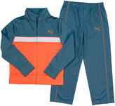 Puma Toddler Boy Tricot Colorblock Jacket & Pants Set