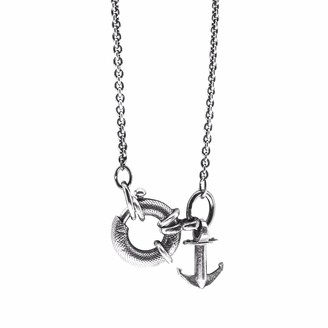 Anchor & Crew Clyde Anchor Signature Silver Necklace Pendant