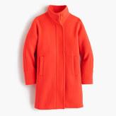 J.Crew Tall stadium-cloth cocoon coat