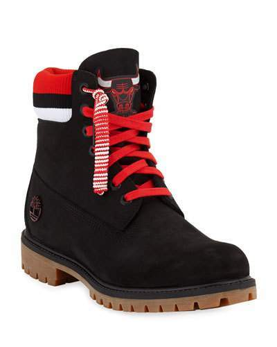 51202ea4dad Men's Chicago Bulls Work Boots