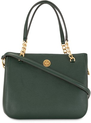 Tory Burch Chain Link Strap Tote Bag