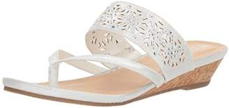 Kenneth Cole Reaction Women's Chime Low Wedge Thong Sandal