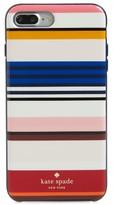Kate Spade Berber Stripe Iphone 7 Plus Case - Pink