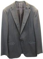 Jil Sander Anthracite Wool Jackets