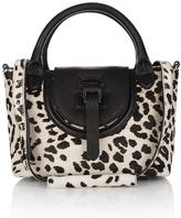 Meli-Melo Halo Mini Cross Body Bag White Leopard