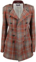 Y's Checked Blazer