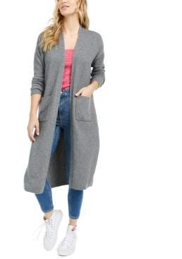 Bar III Becca Tilley x Open-Front Duster Cardigan, Created For Macy's