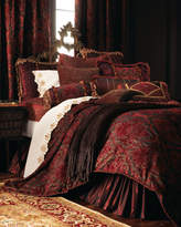Isabella Collection King Embroidered 275TC Pillowcase