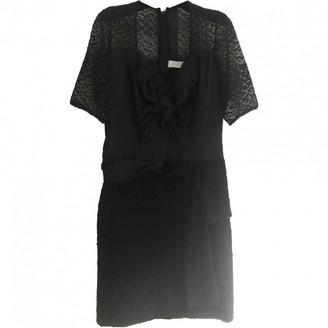 Michael Van Der Ham Black Silk Dress for Women