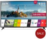 LG Electronics 55UJ630V 55 Inch, 4K Ultra HD HDR, Smart, LED TV