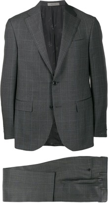 Corneliani Check Two-Piece Formal Suit