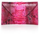 VBH Connor Python & Lizard Envelope Clutch