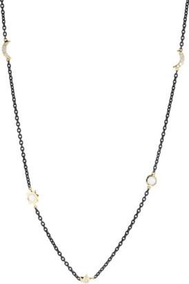 Monica Rich Kosann Black Steel Wrap Chain
