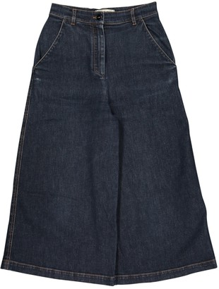 Fendi Navy Cotton - elasthane Jeans for Women