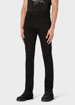 Paul Smith Men's Slim-Standard 'Stay Black Reflex' Denim Jeans