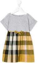 Burberry checked skirt dress