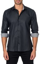 Jared Lang Trim Fit Woven Sport Shirt