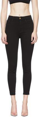 Frame Black Ali High-Rise Cigarette Jeans
