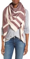 Caslon Striped Triangle Scarf