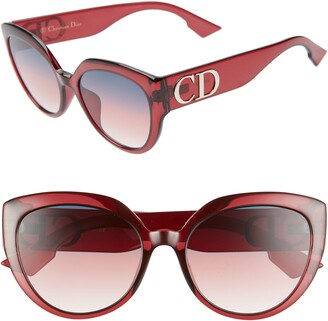 Christian Dior 56mm Special Fit Cat Eye Sunglasses