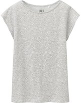 Uniqlo Women Liberty London Short Sleeve Graphic T-Shirt