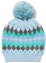 New York & Co. Fair Isle Pom-Pom Hat
