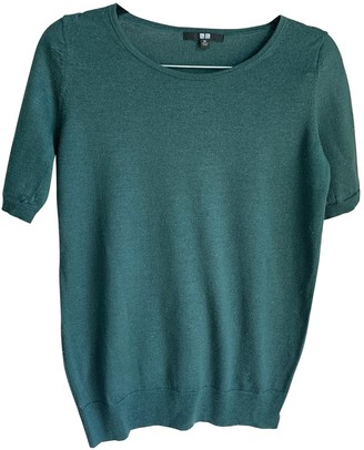 Uniqlo Green Wool Top for Women