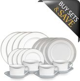 Vera Wang Wedgwood Grosgrain 20-Piece Dinnerware Set