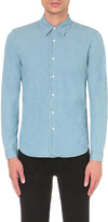 Sandro Faded denim slim-fit shirt