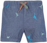 Paul Smith Nemo Dinosaur Chambray Bermuda Shorts