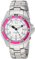 Momentum 'M1 Twist' Quartz Stainless Steel Diving Watch, Color:Grey (Model: 1M-DV11WM0)