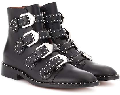 Givenchy Embellished leather boots