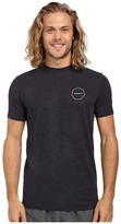 VISSLA Alltime Short Sleeve Heathered Surf Tee UPF 50