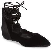 Jeffrey Campbell Women's Atsuko Ii Ankle Strap Flat