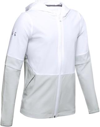 Under Armour Boys' UA Squad Woven Warm-Up Jacket