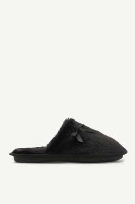 Ardene Faux Fur Slide Slippers