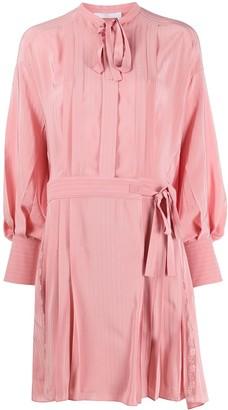 Chloé Striped Shirt Dress