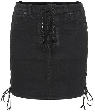 Unravel Denim miniskirt