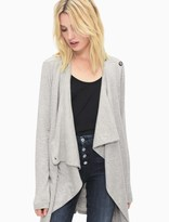 Splendid Super Soft Brushed French Terry Crossover Cardi