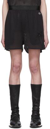Rick Owens Black Champion Edition Mesh Basketball Shorts