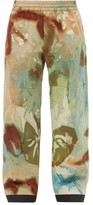 3 Moncler Grenoble - Tie Dye Print Ski Trousers - Mens - Multi
