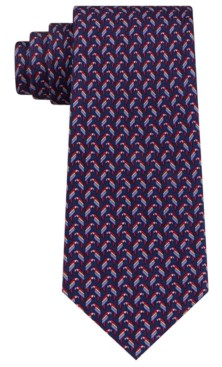 Tommy Hilfiger Men's Small Parrot Silk Tie