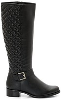 Dune London TORN Leather Riding Boots
