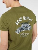 Fat Face VW Road Tripping Graphic T-Shirt