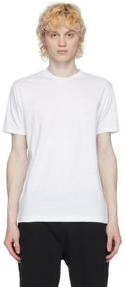 Sunspel White Organic Cotton Riviera T-Shirt