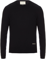 Gucci Crew-neck wool sweater